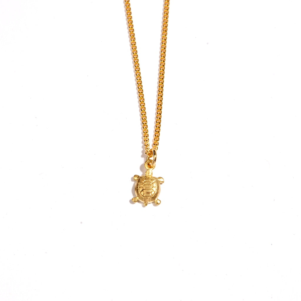 The Turtle for Good Luck 24K Gold Plated