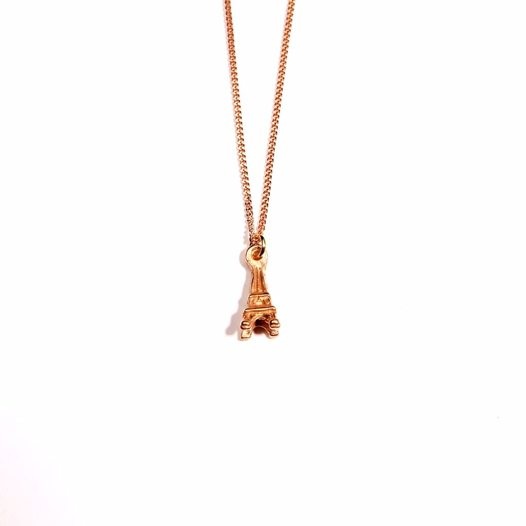 Eiffel 18K Rose Gold Plated