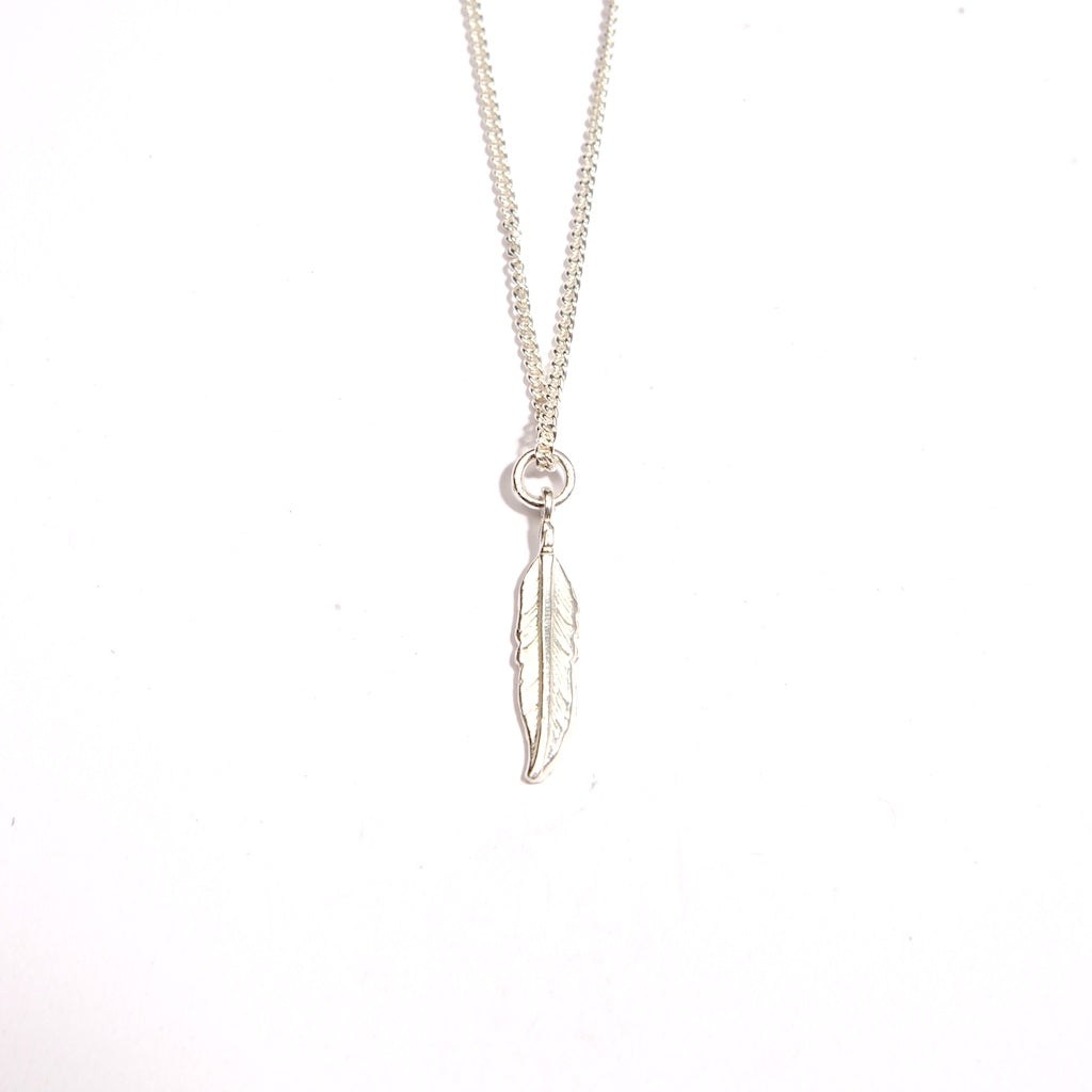 Feather Small Sterling Silver
