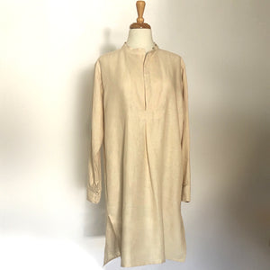 FR Farmers Dress Linnen Cream