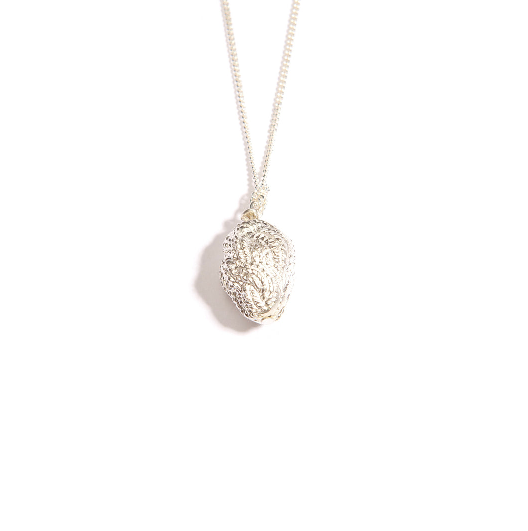 Nautical Knot Silver Plated