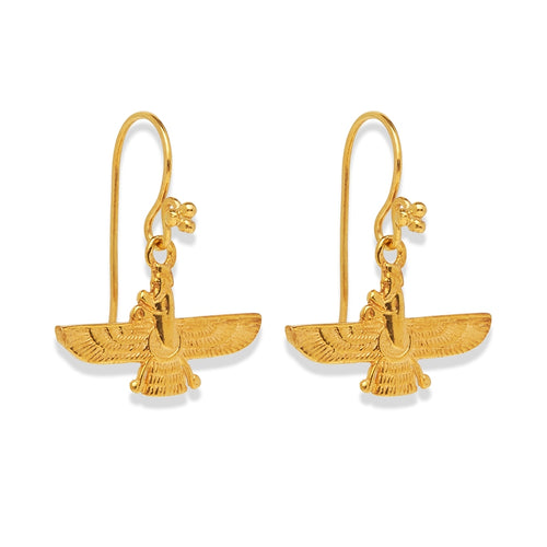 Fabahar Earrings Gold
