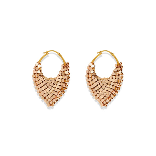 Hoop Handbag Earring Gold Small