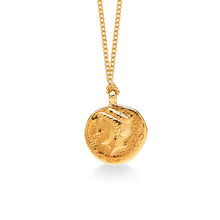 Ancient Goddess of Good Luck Coin Gold