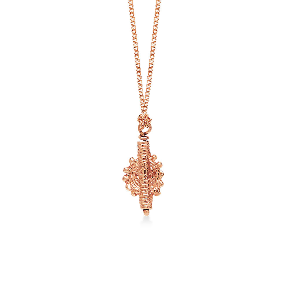 Ancient Indian Swirl Rose Gold