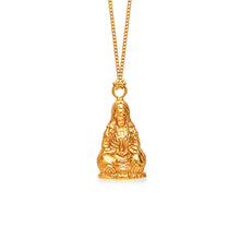 Quan Yin Goddess of Compassion 18K Rose Gold Large