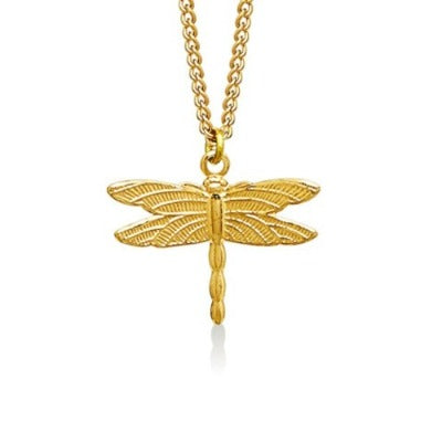 Dragon Fly Small Gold 1
