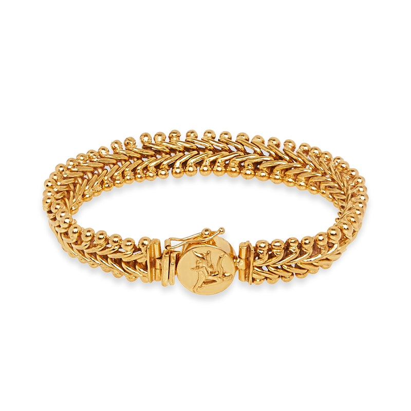 Ancient God of Sun Coin Bracelet
