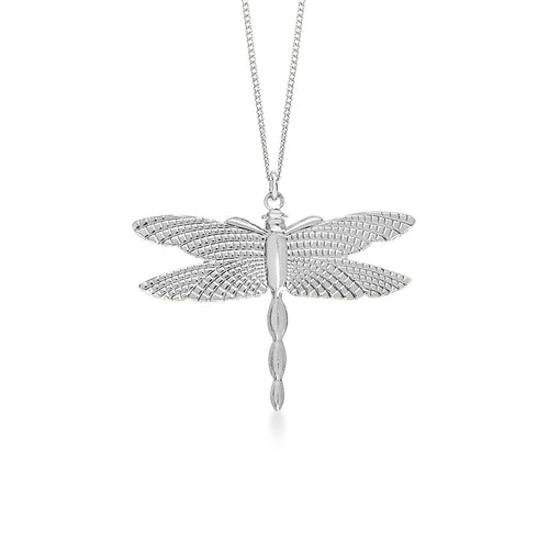Dragon Fly Large Silver
