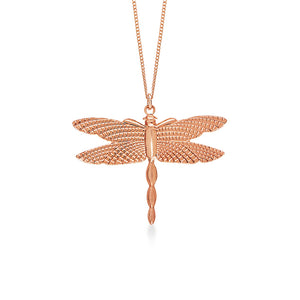 Dragon Fly Large Rose Gold