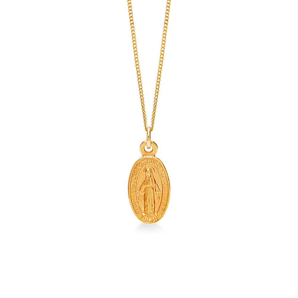 Maria Amulet Small Gold