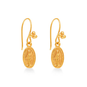 Maria Mini Amulet Earring