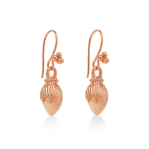 Tassel Earring Rose Gold