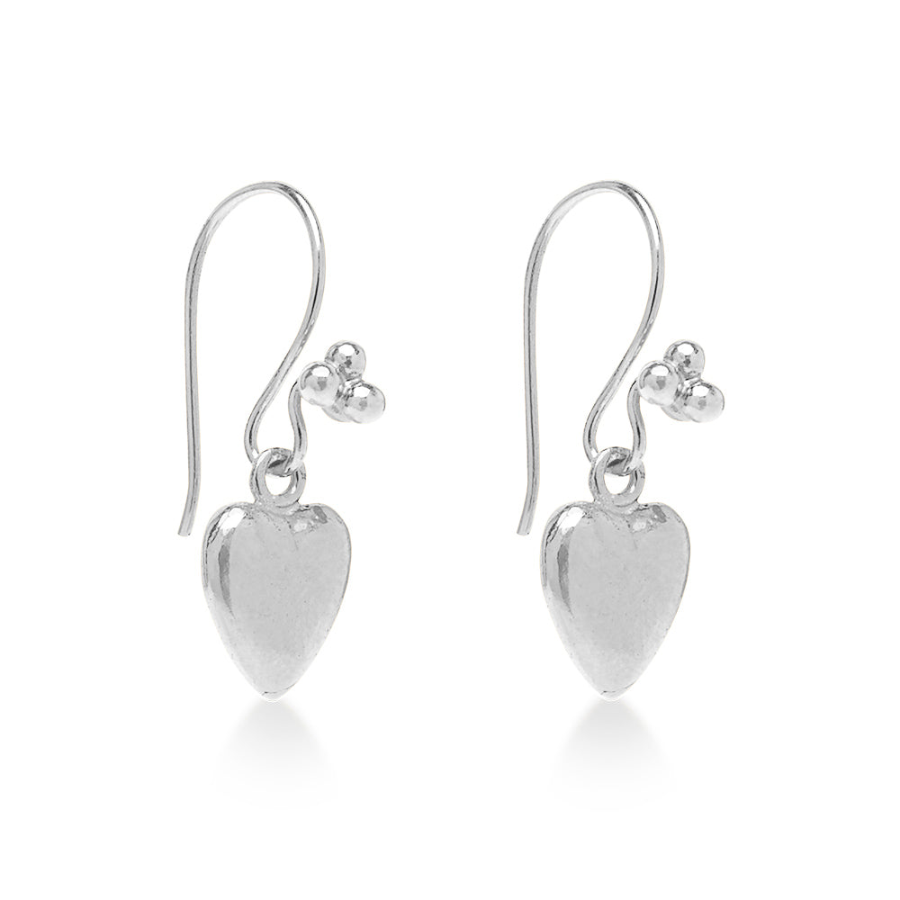 Love Hart Earring Silver