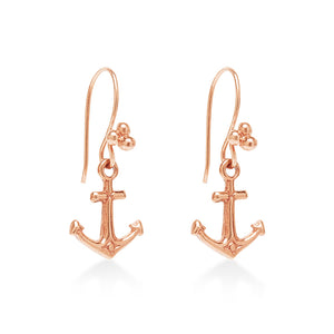 Anchor Earring Rose Gold