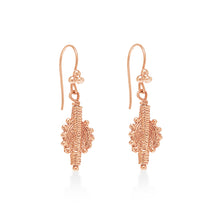 Indian Swirl Earring Gold