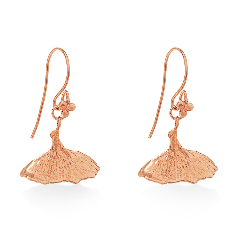 A Whale Tale Rose Gold Earring