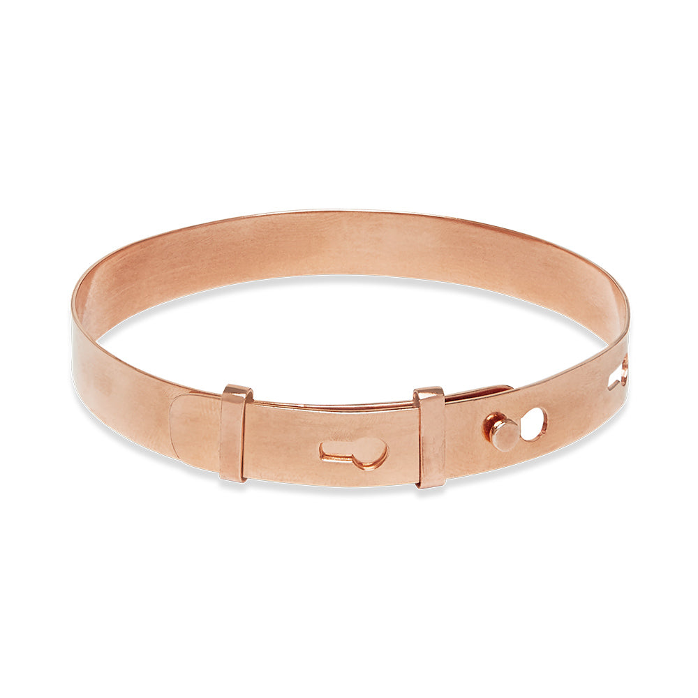 Belt Bracelet Rose Gold