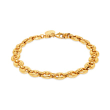 Coffee Bean Bracelet Large Gold