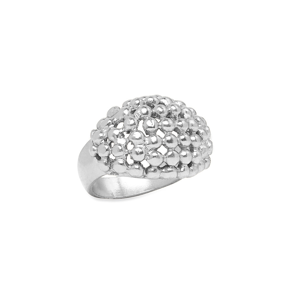 Oma Ball Ring Silver