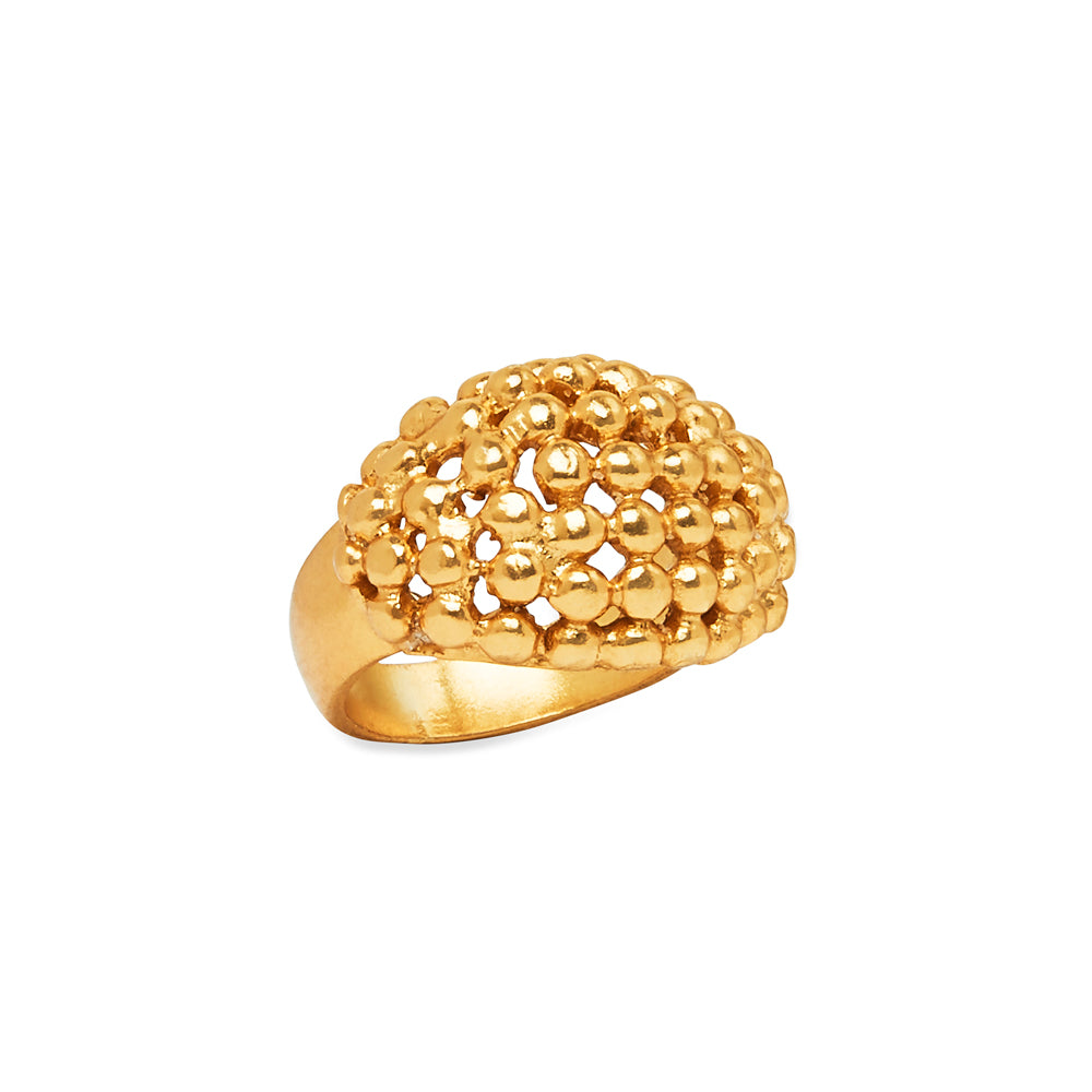 Oma Ball Ring Gold