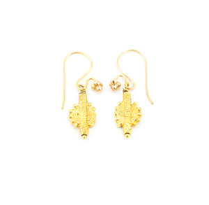 Maria Large Earring Gold
