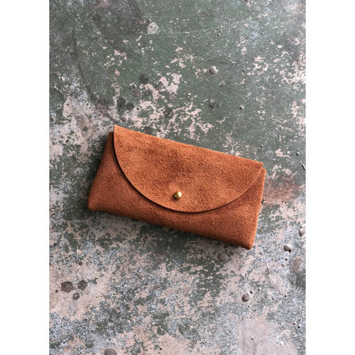leather bought out suede sunglasses case handmade in Austin, Texas woman owned 4th generation Hatton henry