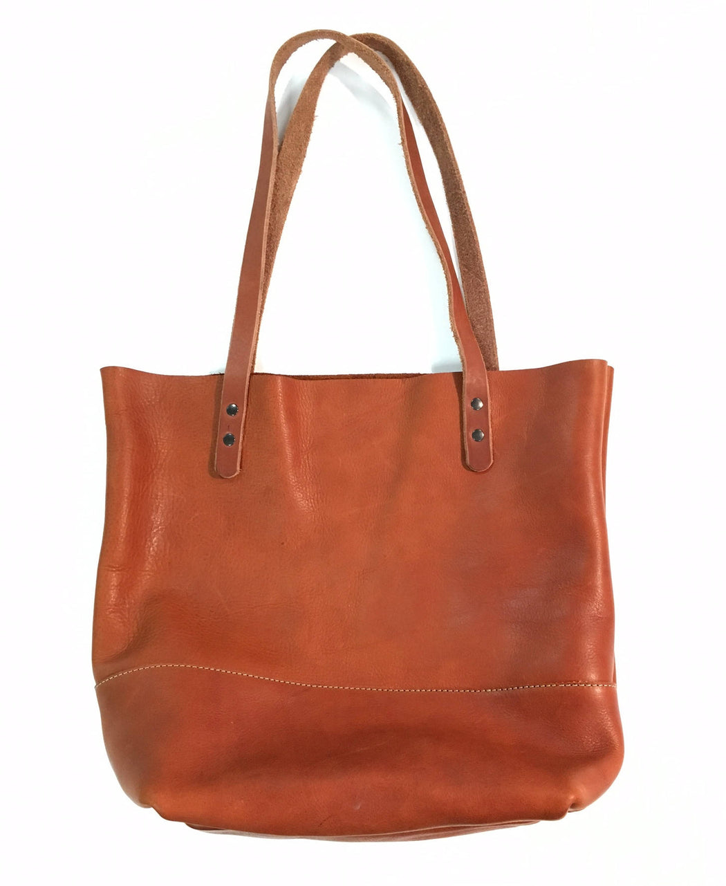 LARGE TOTE Saddle Brown • Leather Everyday Bag
