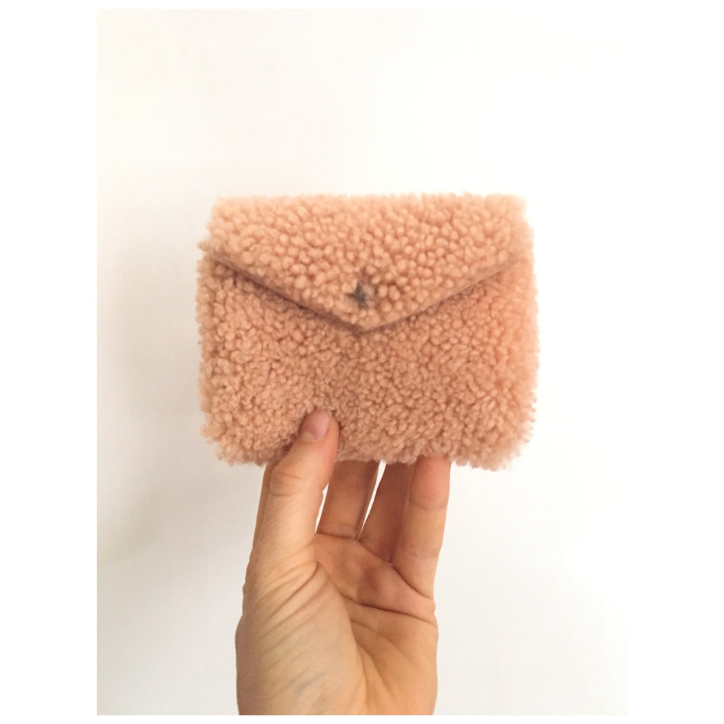 LIMITED EDITION Sheepskin Card Wallets • Business Card Holder • Credit Card Case