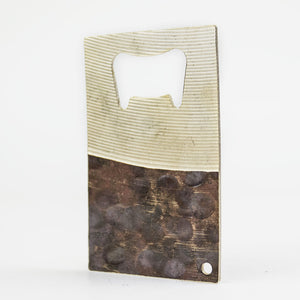 Card Carry - Recycled Cymbal Bottle Opener