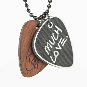 'Much Love' Signature Edition Pick Necklace - Combo