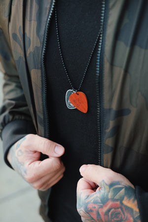 'Much Love' Signature Edition Pick Necklace - Padauk
