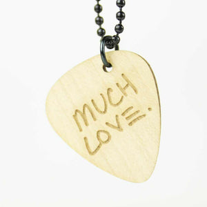 'Much Love' Signature Edition Pick Necklace - Maple