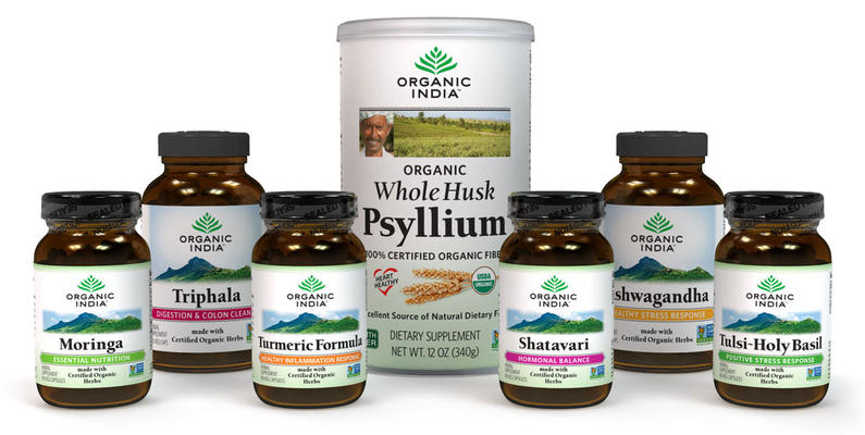 Organic India Herbal Supplements