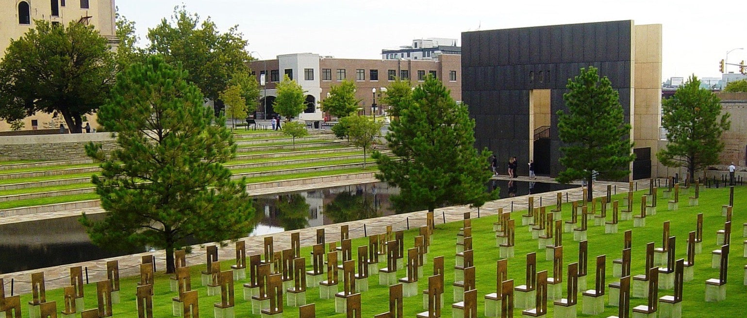 AP Murrah Building Oklahoma City Bombing Memorial