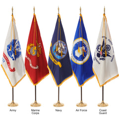 Military Ceremonial Flags