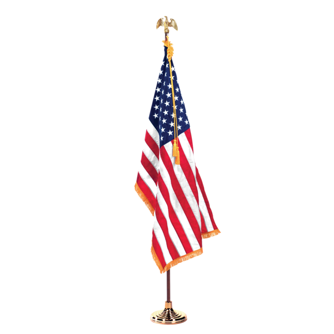 100% American-Made Ceremonial American Flag