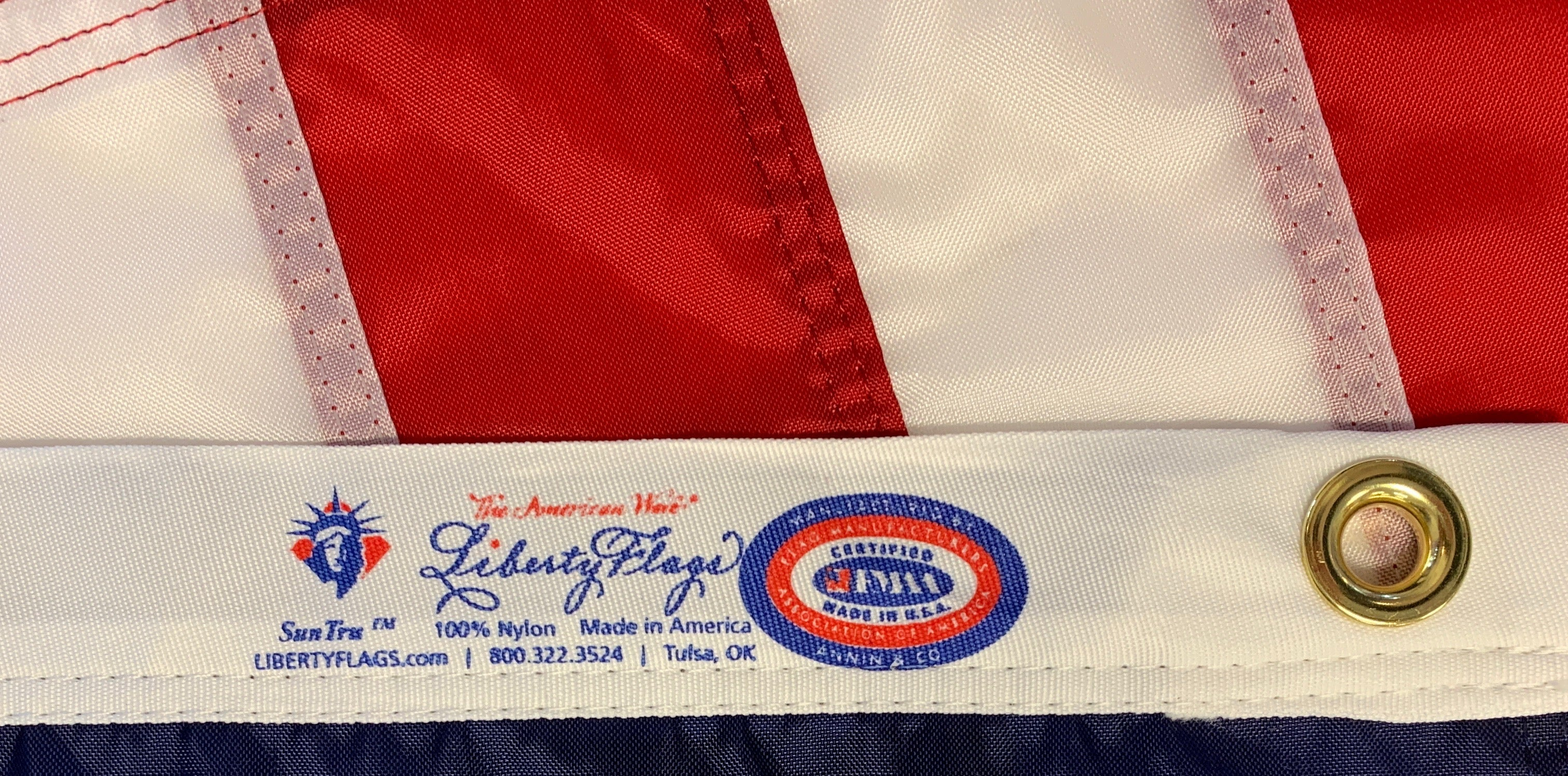 LIBERTY FLAGS, The American Wave® FMAA certification seal image
