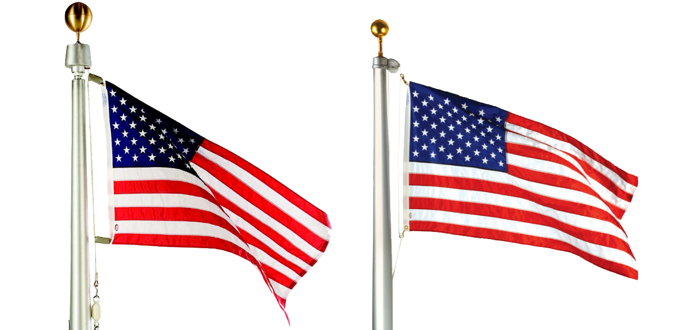 Residential Flagpoles from LIBERTY FLAGS