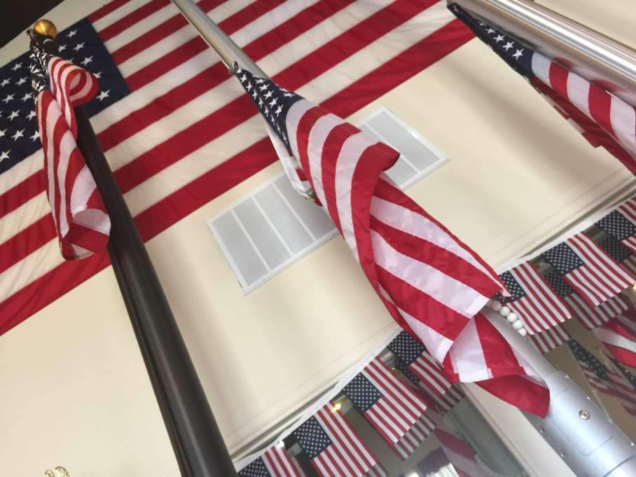 Shop LIBERTY FLAGS' military flags and memorial accessories