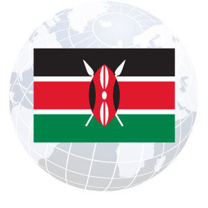 Kenya Outdoor Flags