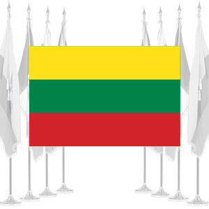 Lithuania Ceremonial Flags