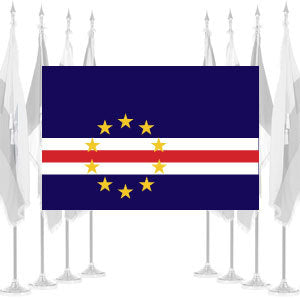 Cape Verde Ceremonial Flags