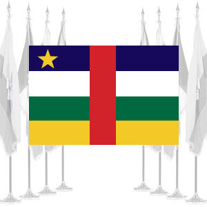 Central African Republic Ceremonial Flags