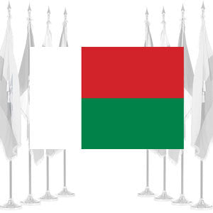 Madagascar Ceremonial Flags