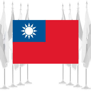 Taiwan Ceremonial Flags