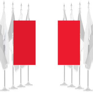 Peru Civil Ceremonial Flags
