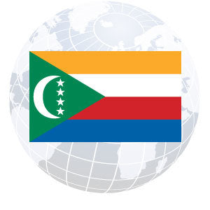 Comoros Outdoor Flags