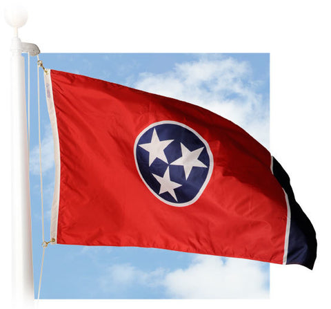 Tennessee Outdoor Flags