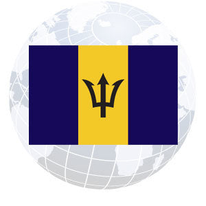 Barbados Outdoor Flags
